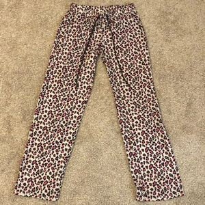 Other - Leopard print pajama bottoms